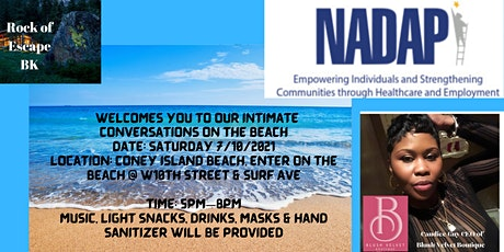 ROE Intimate Conversations on the Beach tickets
