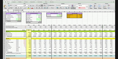 Spreadsheet Course and the ROI Quadrant - Cash Flow is NOT Everything! - Jo tickets