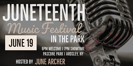 Juneteenth Music Festival In The Park tickets