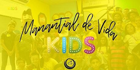 MANANTIAL DE VIDA KIDS DOM- 12:00AM boletos
