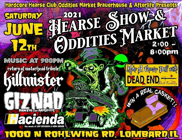 Hearse Show and Oddities Market image