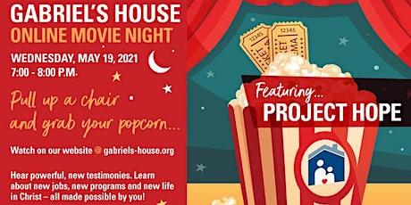 Gabriel's House 2021 Project Hope tickets