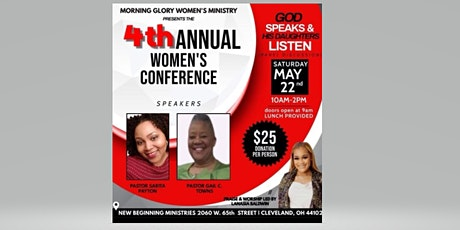 4th Annual Women's Conference tickets