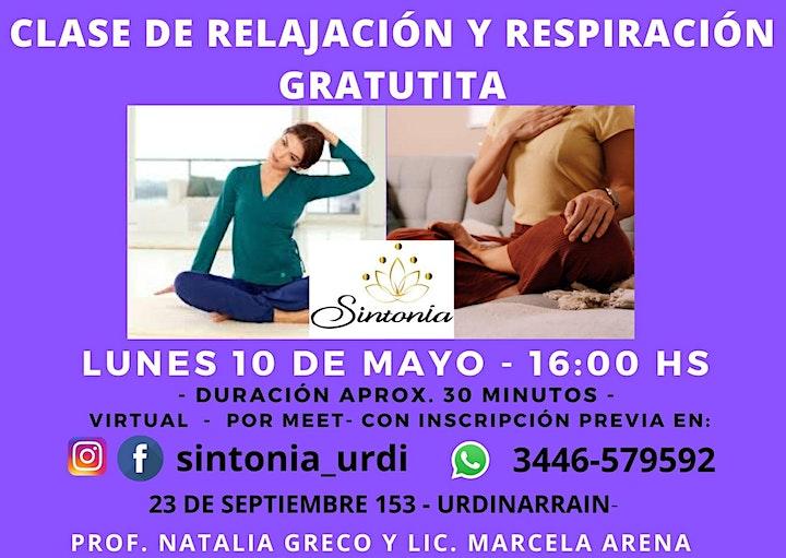 Imagen de RELAJACIÓN Y RESPIRACIÓN