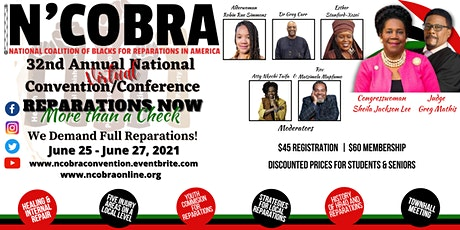 N'COBRA  32nd Annual National Convention/Conference tickets