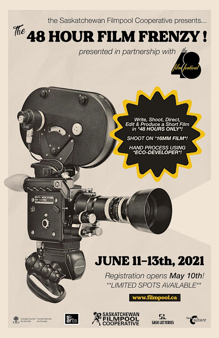 The 48 Hour Film Frenzy! image