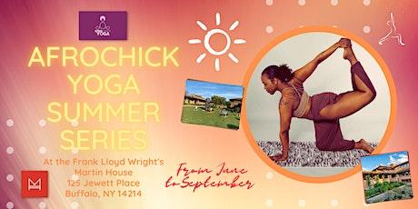 Afrochick Yoga Summer Series tickets