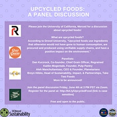 Upcycled Foods: A Panel Discussion tickets