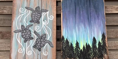 Paint Night with Pretty in Paint by Tina Walter and Rustic Cork tickets