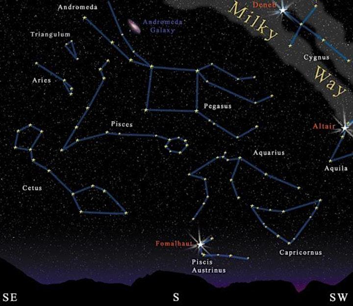 Exploring and Navigating the Autumn Night Sky image