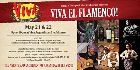 Viva el Flamenco - Key West tickets