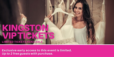 Kingston Pop Up Wedding Dress Sale VIP Early Access tickets