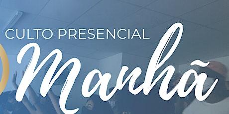 CULTO (MANHÃ) - CELEBRAÇÃO FAMÍLIA   - 09h30 | @ibsemearcampinas tickets