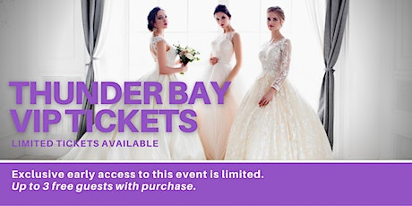 Thunder Bay Pop Up Wedding Dress Sale VIP Early Access tickets