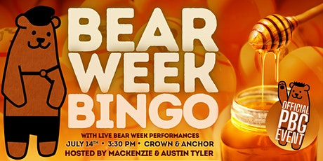 Bear Week Bingo tickets