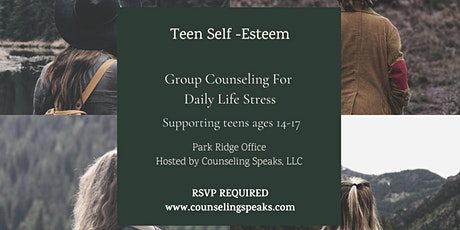 Teen Self-Esteem Support Group Therapy tickets