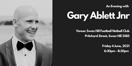 Live Q&A with AFL champion Gary Ablett at Swan Hill Football Netball Club tickets