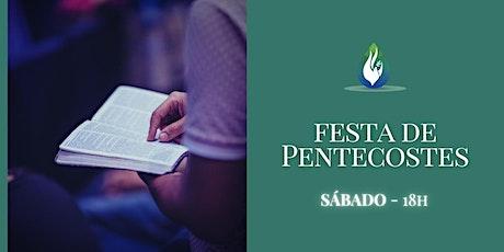 Festa de Shavuot - Sábado ingressos