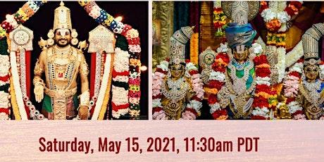 COVID-19  Relief Fundraiser: Sri Venkateshwara Thirukalyanam tickets