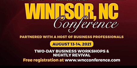 Windsor, NC Conference 2021 tickets