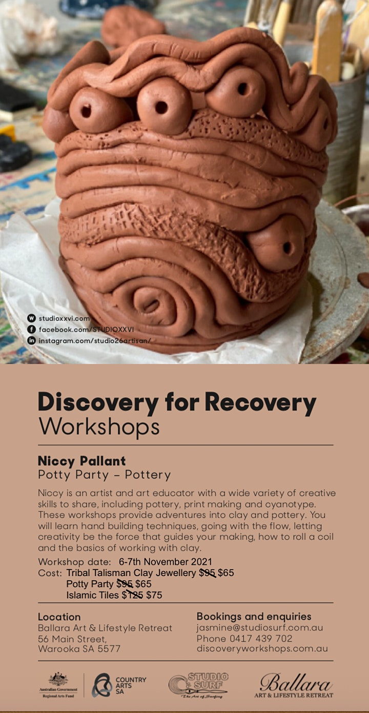 Potty Party for Potty Mouths - Discovery Workshop with Niccy Pallant image