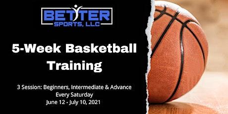 Better Sports - 5-Week Basketball Training tickets