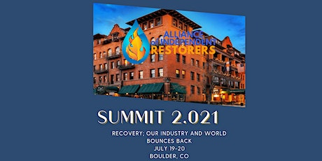 AIR Summit 2.021- Recovery in Boulder tickets
