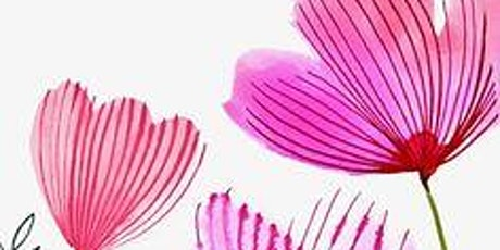 Easy Watercolor Flowers,   Art Class for Teens & Adults tickets