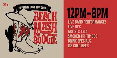 Beach Mash & Boogie tickets