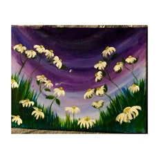 Field of daisies paint & sip tickets