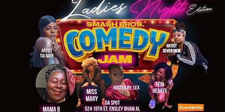 SmashBros Comedy Jam tickets
