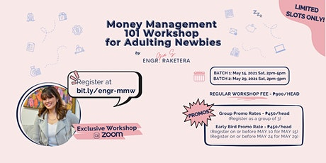 Money Management 101 Workshop for Adulting Newbies tickets