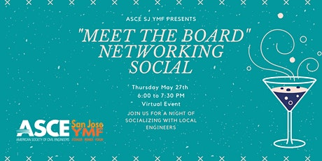 "ASCE SJ YMF ""Meet the Board"" Networking Social tickets"