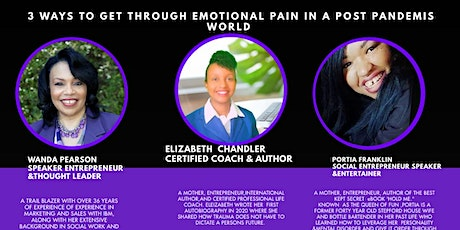 Webinar 3 Ways to Get Through Emotional Pain In a Post Pandemic World tickets