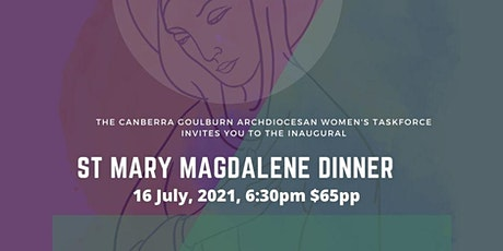 Mary Magdalene Dinner 16 July, 2021 tickets