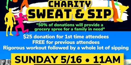 Sweat & Sip 4 Charity (2nd Class) tickets