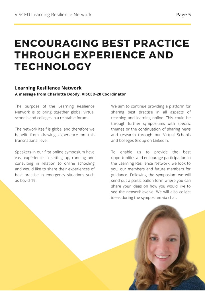 Learning Resilience Network: Lessons Learned from Covid-19 image
