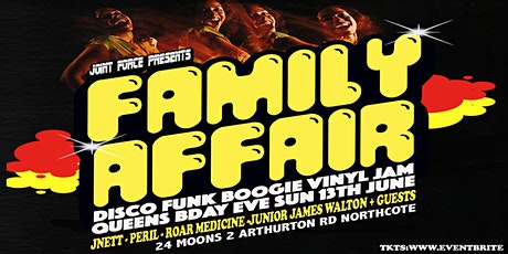 'FAMILY AFFAIR' presented by Joint Force tickets