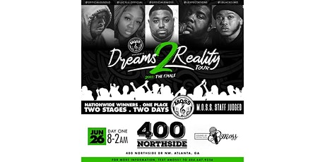 Dreams 2 Reality Moss Entertainment Edition ( Day One) tickets