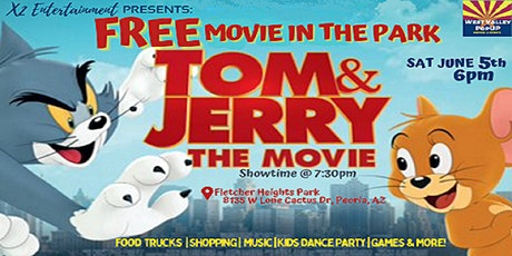 A Peoria FREE Outdoor Movie, Food Trucks and MORE!  Sat June 5th tickets