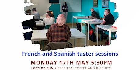 FREE French and Spanish classes in central London tickets