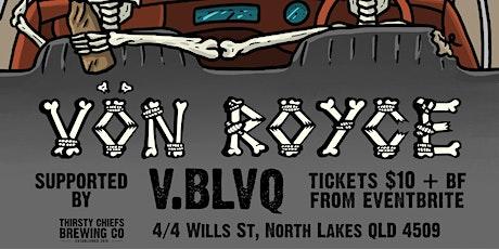 VON ROYCE @ Thirsty Chiefs Brewing Co. tickets