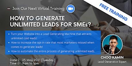 Unlimited Lead Generation Training tickets