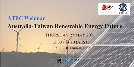Australia-Taiwan Renewable Energy Future tickets