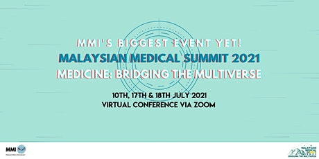 Malaysian Medical Summit 2021 tickets