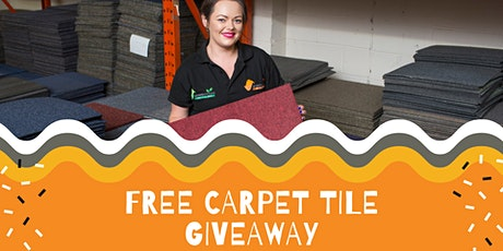 Free Carpet Tile Giveaway tickets