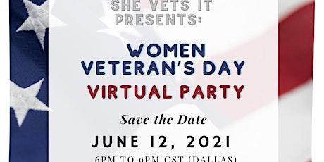 Women Veteran's Day: Virtual Party tickets