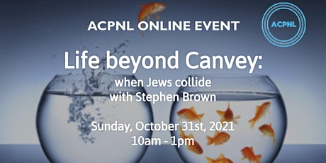 Life beyond Canvey: when Jews collide with Stephen Brown tickets