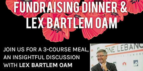 Women Waging War on Cancer Fundraising Dinner & Lex Bartlem OAM tickets