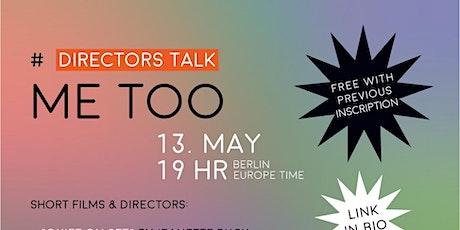 #metoo Directors Talk. Vierte Welle Festival tickets